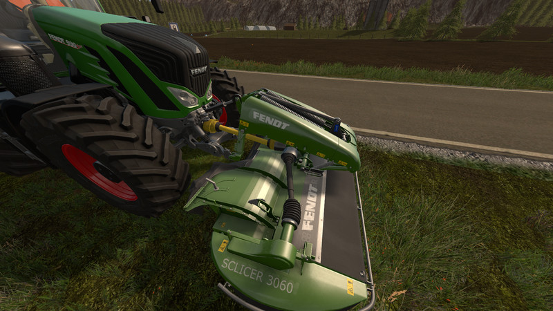 Мод сенокосилка FENDT SLICER 3060 FP V1.0 Farming Simulator 2017