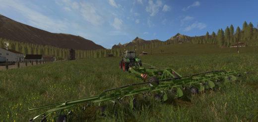 Мод сеноворошилка FENDT TWISTER V1.0 Farming Simulator 17