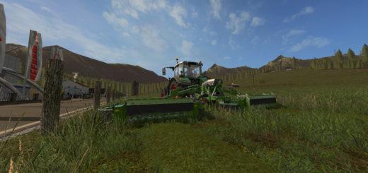 Мод сенокосилка FENDT BUTTERFLY V1.0 Farming Simulator 2017