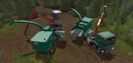 Мод ПАК FOREST EXTENSION AR-PACK V2.0 Farming Simulator 17