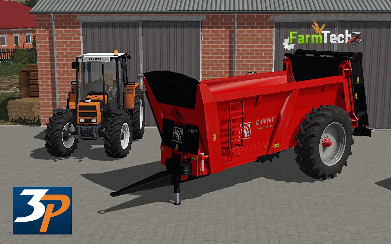 Мод прицеп GILIBERT HELIOS 15 V1.0 Farming Simulator 17