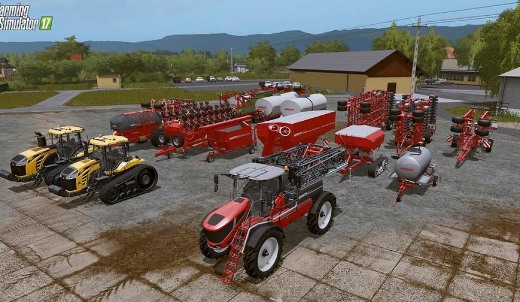 Мод ДЛС Horsch AgroVation DLC Farming Simulator 17