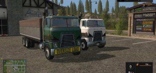 Мод ПАК грузовики IH TRANSTAR V1.0 FS17