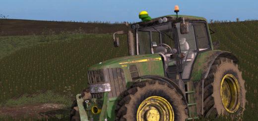 Мод трактор JOHN DEERE 6030 PREMIUM V1.1.0.0 Farming Simulator 2017
