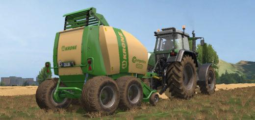 Мод тюкопресс KRONE COMPRIMA F155 XC V1.0.0.0 Farming Simulator 17