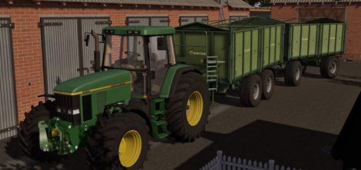 Мод прицепы KRONE EMSLAND DK280R AND TDK300 PACK V1.0 Farming Simulator 17