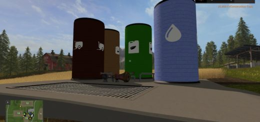 Мод хранилища LIQUID STORAGE PACK V1.0 Farming Simulator 2017