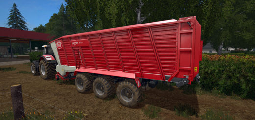 Мод прицеп Lely Tigo XR 100D v2.0 Farming Simulator 2017