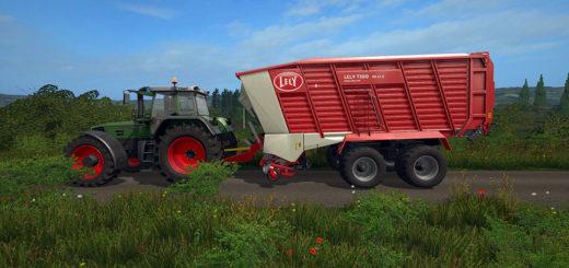 Мод прицеп Lely Tigo XR 65D v1.0 Farming Simulator 17