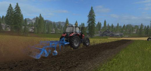 Мод культиватор Lemken Kristall 9 v1.1 Farming Simulator 2017