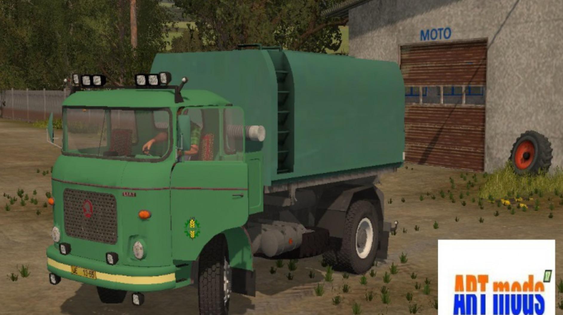 Мод грузовик Лиаз LIAZ 706 MP VLH V1.0 Фарминг Симулятор 2017