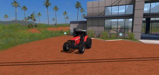 Мод трактор MF 7180 CANAVIEIRO V2.0 Farming Simulator 2017