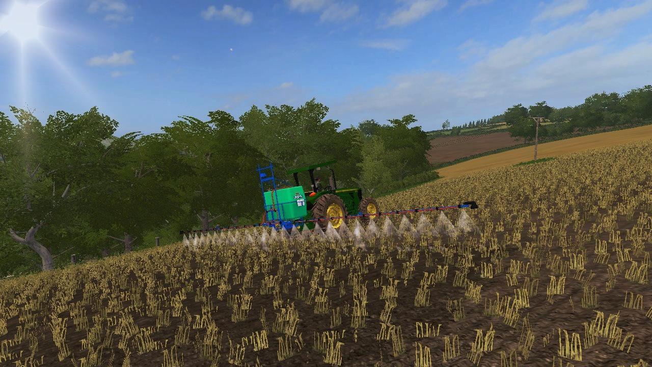 Мод опрыскиватель MONTANA PARRUDINHO 600X12 V1.1 Farming Simulator 2017
