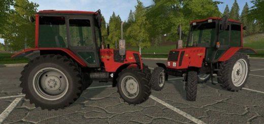 Мод ПАК трактора МТЗ 826 v 2.0 Фермер Симулятор 2017