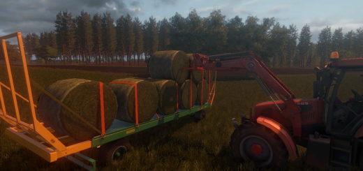 Мод прицеп Metaltech PBD 8 Farming Simulator 2017
