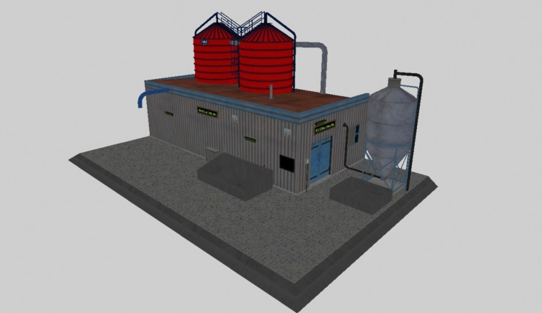 Мод Placeable Mist Guelle Anlage v1.1 FS17