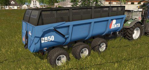 Мод прицеп PENTA DB 50 V1.0 Farming Simulator 2017