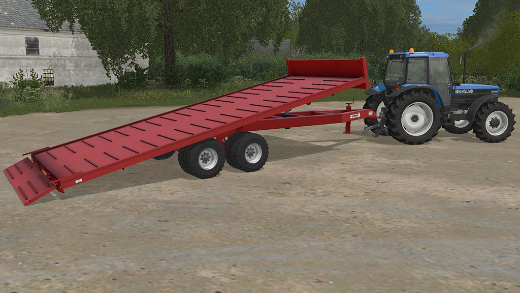 Мод прицеп PIERI GP140SPBK V1.0.0.0 Farming Simulator 17