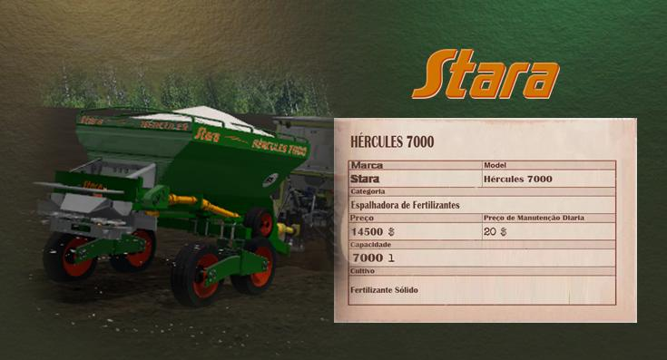 Мод STARA HERCULES 7000 V2.0 Farming Simulator 2017