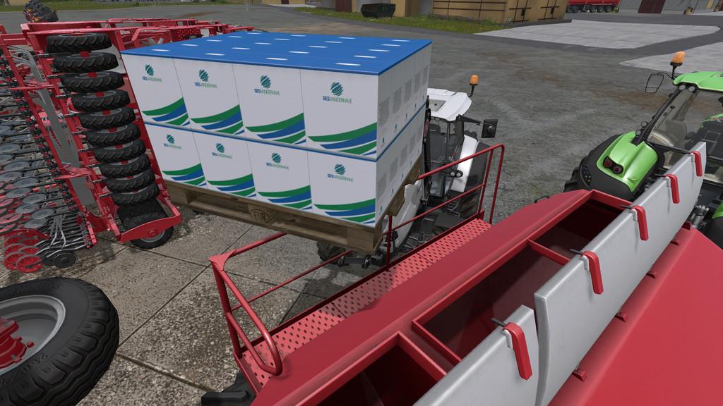 Мод Seed Pallet v1.0 для Farming Simulator 2017