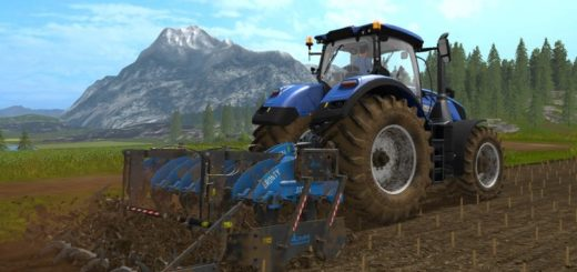 Мод плуг SICMA BRONTY 3000 V2.0 Farming Simulator 2017