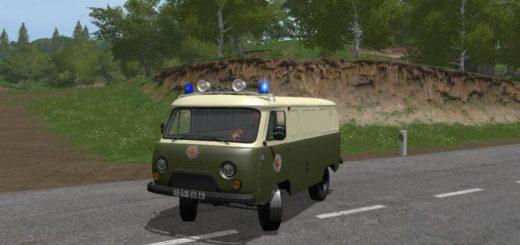 Мод авто УАЗ UAZ VOLKSPOLIZEI V1.0 Фарминг Симулятор 2017