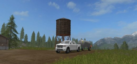 Мод Placeable Water Tower v1.0 Farming Simulator 17