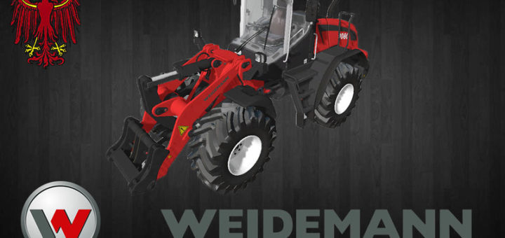 Мод погрузчик WEIDEMANN 9080 V1.0 Farming Simulator 17
