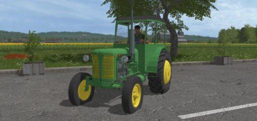 Мод трактор ZETOR SUPER V1.0.0.0 Farming Simulator 17