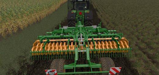 Мод культиватор AMAZONE CATROS 6001 RADFAHRWERK V1.0 Farming Simulator 17