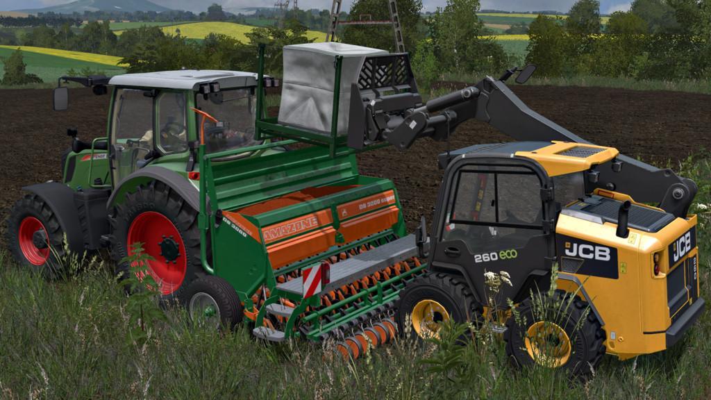 Мод сеялка AMAZONE D9 3000 SUPER V1.0.0.0 Farming Simulator 17