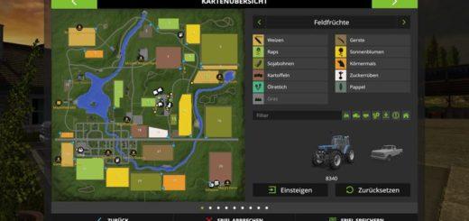 Мод карта GOLDCREST HILLS V1.4.1 Farming Simulator 2017