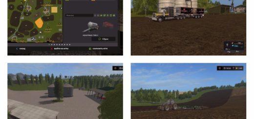 Мод карта LOST VALLEY FARM 17 V1.2 FINAL Farming Simulator 2017
