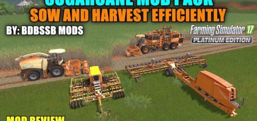 Мод ПАК для сахарного тростника v1.0 Farming Simulator 17