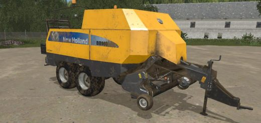 Мод тюкопресс NEW HOLLAND BIG BALER 960A V1.0.0.0 FS17