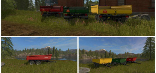 Мод прицеп METAMID DUMP TRAILER V1.1.0.0 FS17