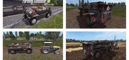 Мод прицеп Fortschritt HL 50/45.2 Tanker V1.0 Farming Simulator 2017