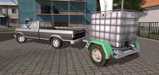 Мод Homemade Water Tank v1.0 Farming Simulator 2017