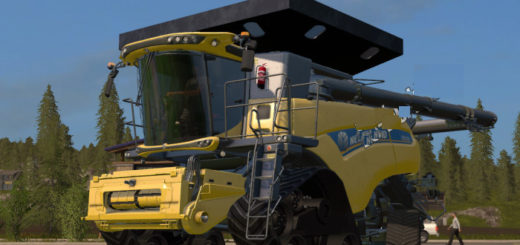 Мод комбайн NEW HOLLAND CR 1090 V2.0 Farming Simulator 17
