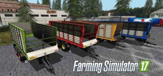 Мод ПАК прицепы Kaweco Radium Pack v1.0 Farming Simulator 17