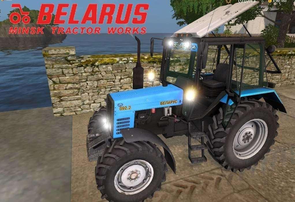 Мод трактор МТЗ-892.2 Фарминг Симулятор 2017