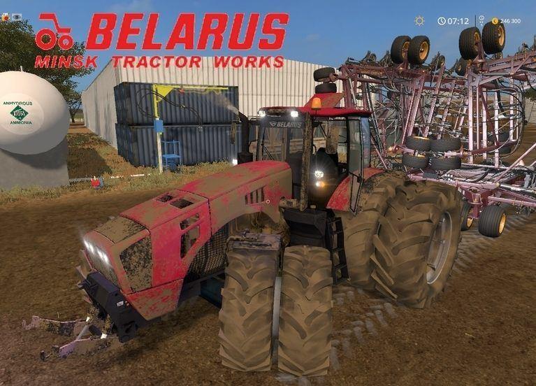 Мод трактор МТЗ-4522 v2.1 Фермер Симулятор 2017