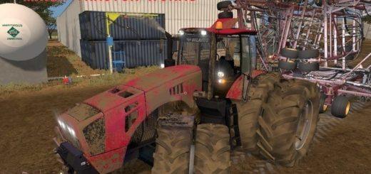 Мод трактор МТЗ-4522 v2.0 Фарминг Симулятор 2017