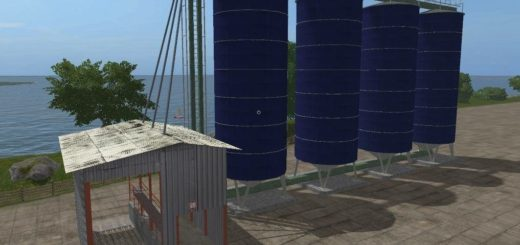 Мод Placeable Grain Storage Silo Farming Simulator 2017