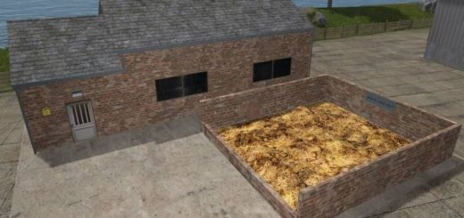 Мод Placeable Manure SellPoint v1.0 FS17