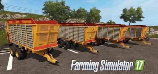 Мод ПАК прицепы Veenhuis SW Pack V1.0 Farming Simulator 2017