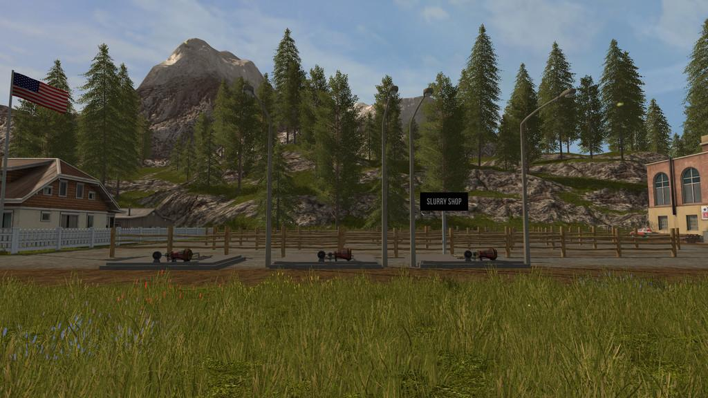 Мод ПАК SLURRY TRADING SYSTEM V1.0.0.0 Farming Simulator 17