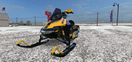 Мод снегоход SKI DOO V1.0 Farming Simulator 17