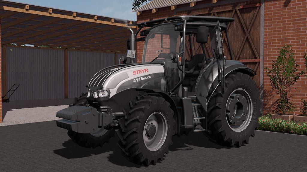 Мод трактор STEYR 4115 V1.0.0.0 FS17