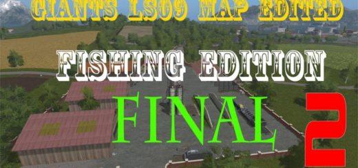 Мод карта GIANTS LS09 EDITED FINAL VERSION Farming Simulator 17